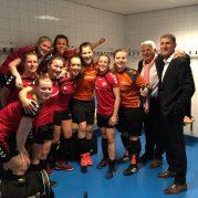 Mazzelstars Vrouwen 1 ongeslagen kampioen + halve finale beker
